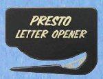 Presto Letter Opener - Black